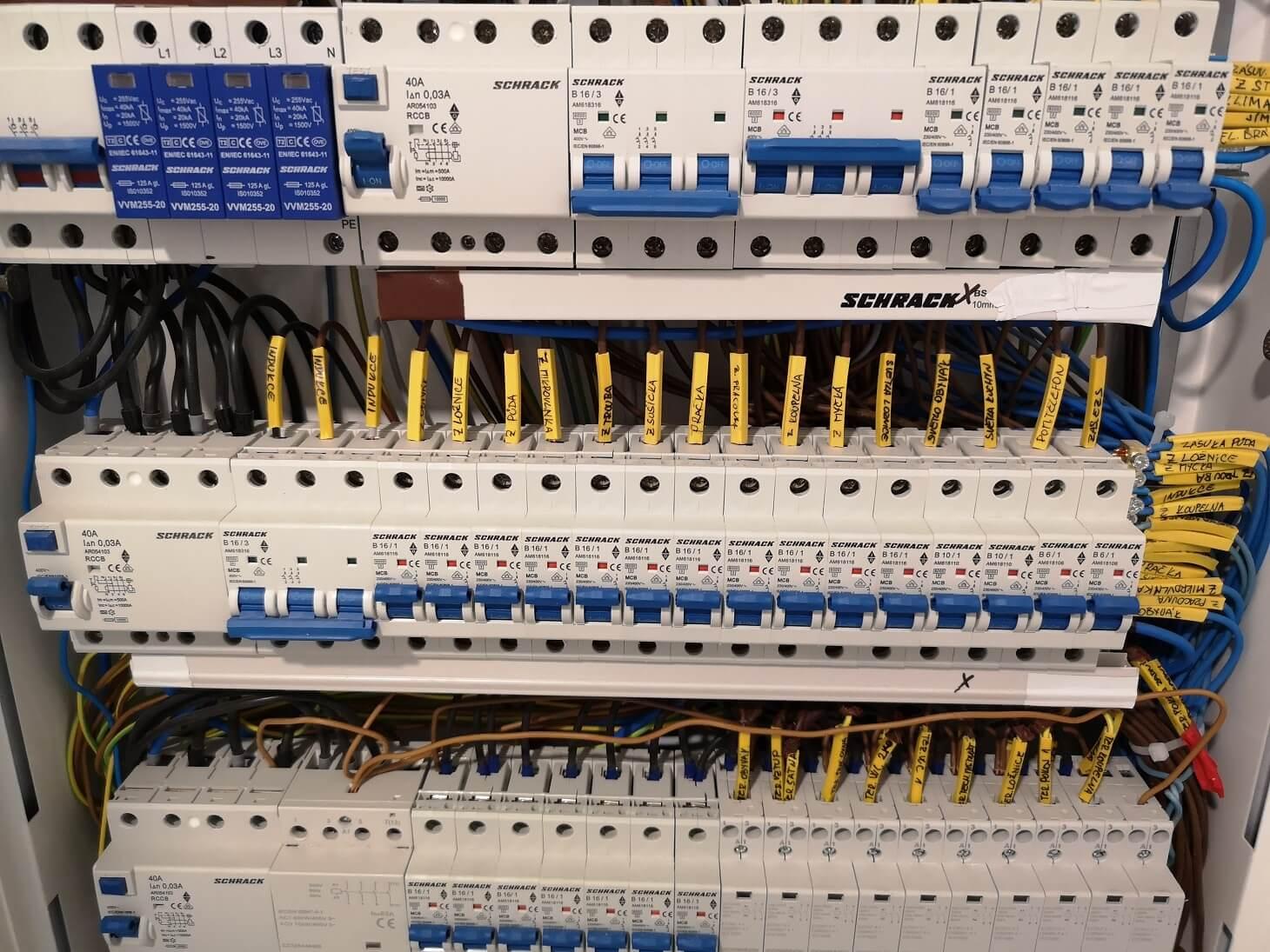 Elektroinstalace v RD